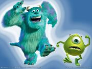 Mike Wazowski and Sulley 004