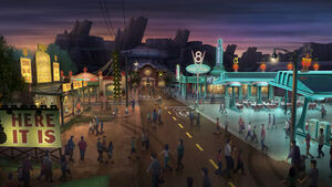 Cars-Land-downtown