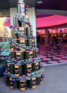 Cars Land Motor Oil Christmas Tree