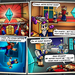 The second comic for the Space Station.