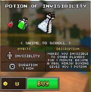 INVISIBILITYpotion