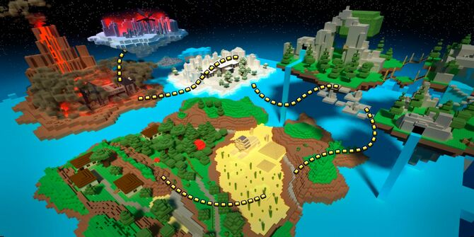 Block World Map