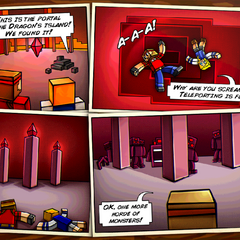 Story comic for Parallel World #1.