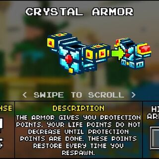 Light Crystal Armor.