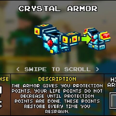 Light Crystal Armor.