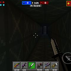 Inside the ventilation shaft.