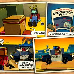 The Story Comic for City.