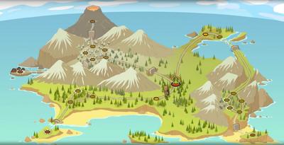 Tiki Island Map