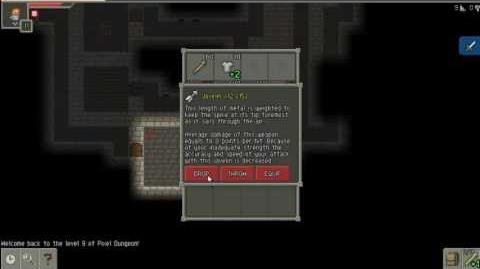 Pixel Dungeon Slaying Tengu