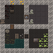 Mining cave level example