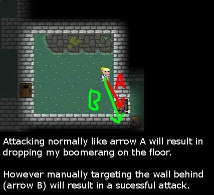 Wall attack