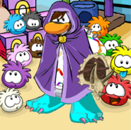 Flames PC Puffle Party