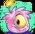 Pink Alien Puffle