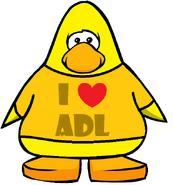 Orange ADL T