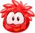 Red Crystal Puffle 1