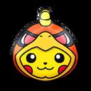 Pikachu (Ho-Oh Costume)