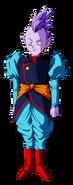 Kaioshin sprzed 15 pokoleń, fanart, autor TheRyuk4