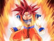 Super Saiyanin God fanart (4)
