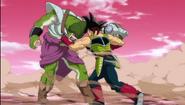 Bardock atakuje Kyabirę