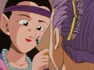 Lena maluje Trunksa