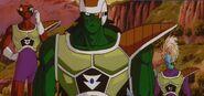 Odział przygotowuje się do walki z Goku.