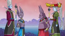 Beerus, Champa, Whis i asystentka Champy.jpg