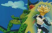 Cell z przyszłości Trunksa kontra Trunks z przyszłości (18)