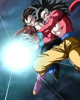 Goku, Vegeta SSJ4