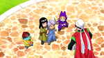 Mai, Trunks, Pilaf and Shu