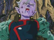 Wschodni Kaioshin (7) Ledwie żywy po walce z demonem
