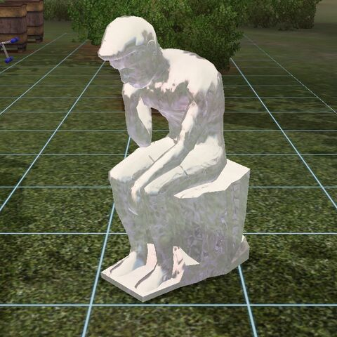 Jedna z rzeźb