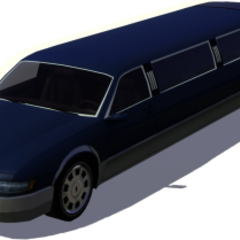Limuzyna The Sims 3 (granatowa)