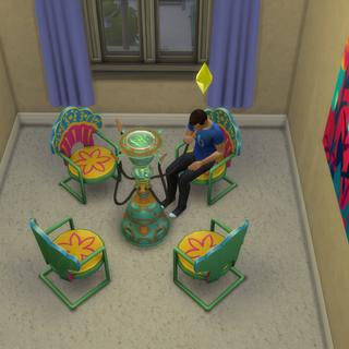 Bąblobar w The Sims 4