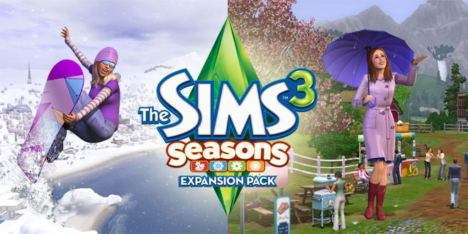 The Sims 3 Seasons page cover