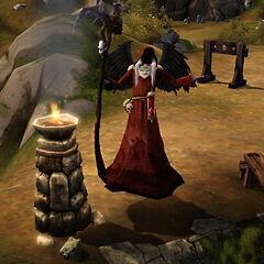 Mroczny Kosiarz w <i>The Sims Średniowiecze</i>