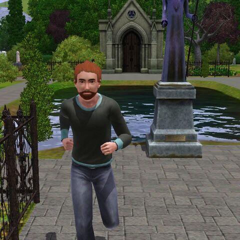 Connor Frio wraca z cmentarza.