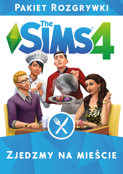 The Sims 4 Zjedzmy na miescie - okladka.png