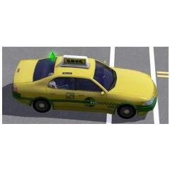 Taksówka w The Sims 3