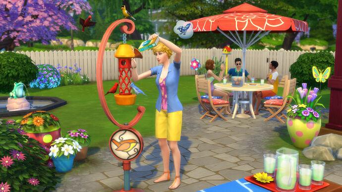 The Sims 4: Zabawa na Podwórku