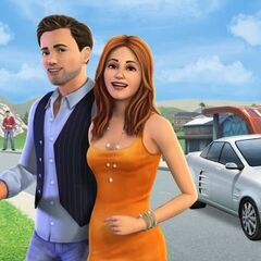 Banner promocyjny The Sims FreePlay