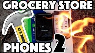 Bored Smashing - GROCERY STORE PHONES! Episode 2