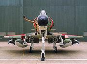 220px-A-4SU Super Skyhawk head on