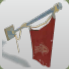 Pirate Flag Red icon