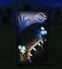 Wall Poster 06 - Kraken at night