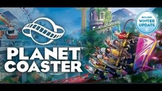 Planet Coaster - Tutorial Let's Play - Episode 2 - Making Paths!!