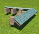 Castle Spire Roof Eave Corner