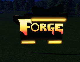 Ride Sign - The Forge lit