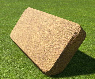 Thatch Roof 4m Eave - Planet Coaster