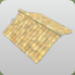 Tiled Roof Ridge with Edges icon