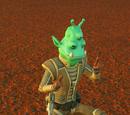 Trooper Typing - Green Alien